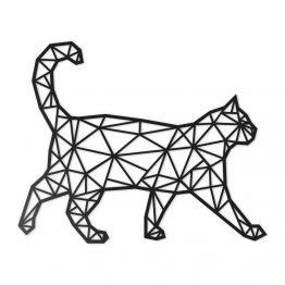 Ozdoba Geometryczna 3D Kot XL