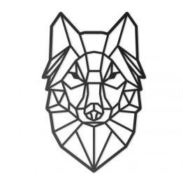 Dekoracja Geometryczna 3D Wilk XL
