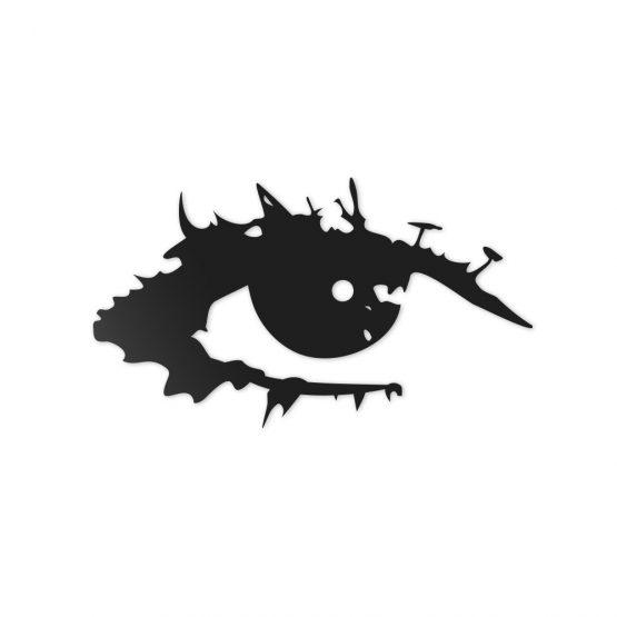 Oko - dekoracja ścienna 3D