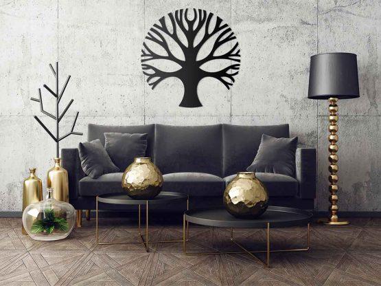 Drzewo - czarny