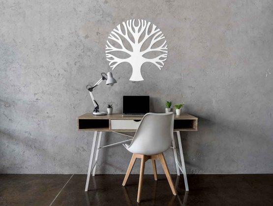 Drzewo - biały