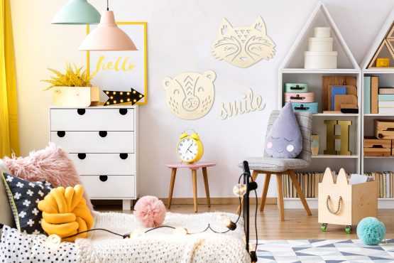 Lisek - pokój dziecięcy