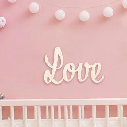 LOVE - pokój dziecięcy
