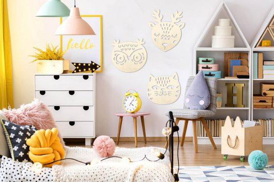 Sowa - pokój dziecięcy