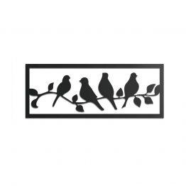 Gołąbki - panel dekoracyjny, obraz 3D
