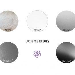 dekoracje HDF - dostępne kolory