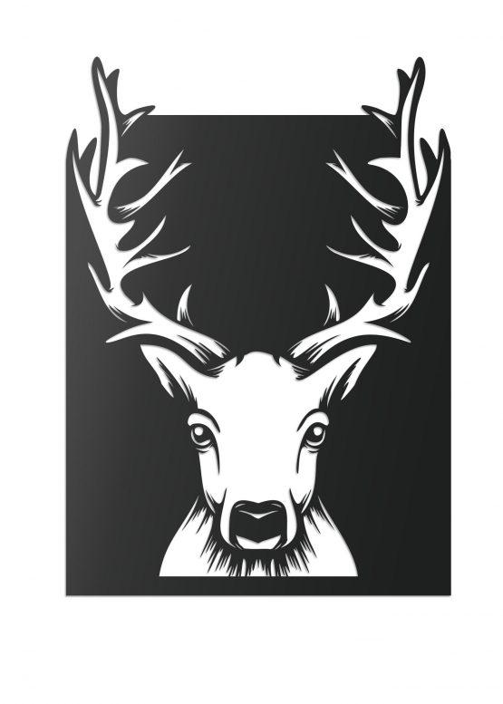Jeleń - Obraz 3D, Grafika na ścianę