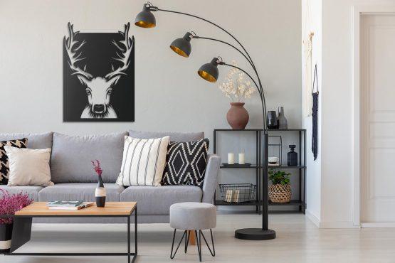 jeleń - wnętrze