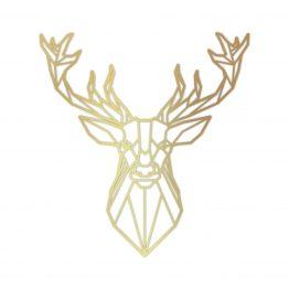 Złoty Jeleń dekoracja ścienna - M