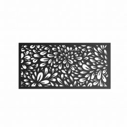 Kwiaty Ażurowy panel dekoracyjny 3D, ścienny