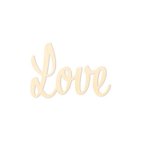 Love napis na ścianę do pokoju dziecięcego