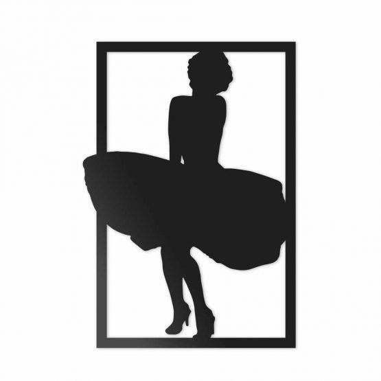 Marilyn Monroe - dekoracja ścienna 3D