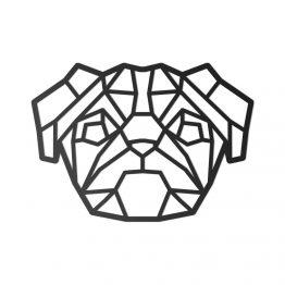 Ozdoba Geometryczna 3D Mops