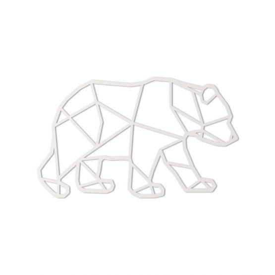 geometryczny niedźwiedź