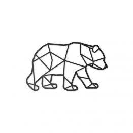 Dekoracja Geometryczna 3D Niedźwiedź M
