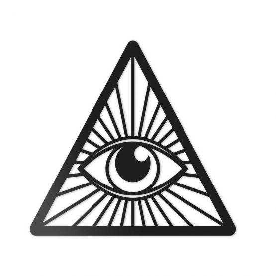 Oko opatrzności - obraz 3D