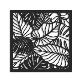 Liście Palmy – Ażurowa dekoracja ścienna 3D