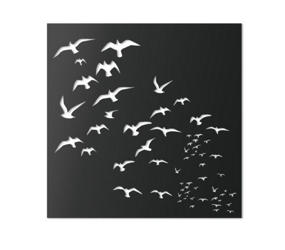 Ptaki - Dekoracyjny panel ścienny