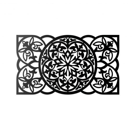 Ażurowy panel dekoracyjny 3D, ścienny - wzory