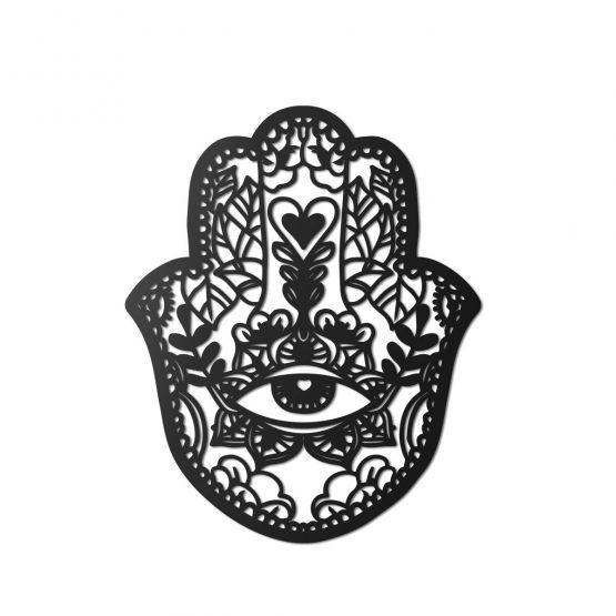 Chamsa obraz ażurowy 3D Ręka Fatimy