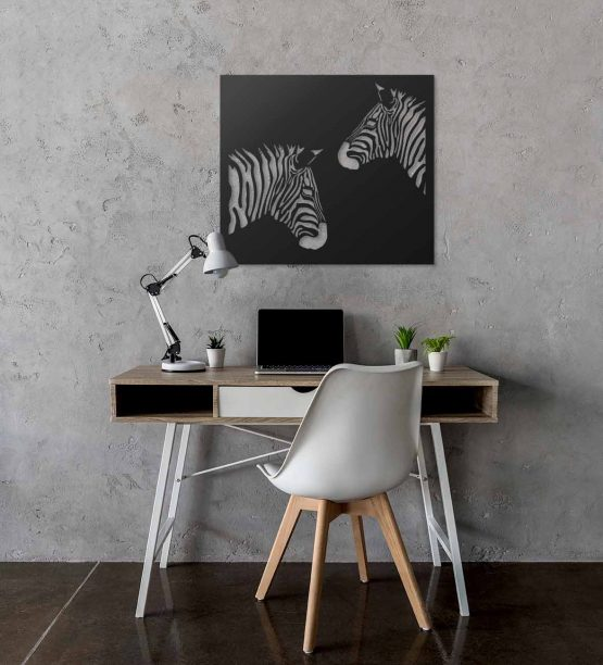 Zebra obraz 3D