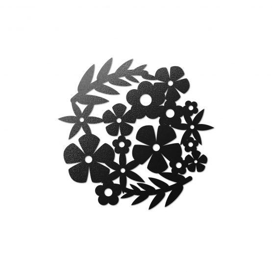 Podstawki pod kubek - Kwiaty 4 szt