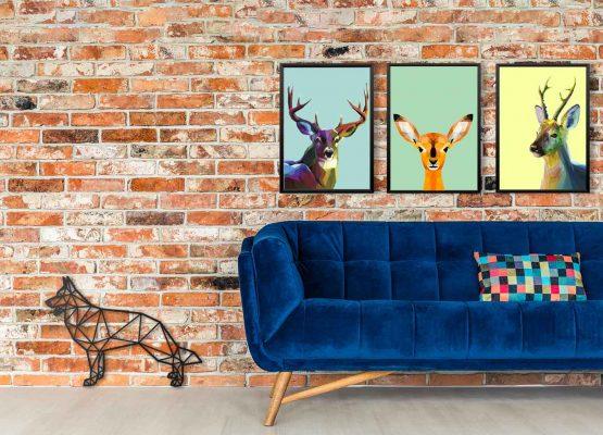 plakaty jelenie
