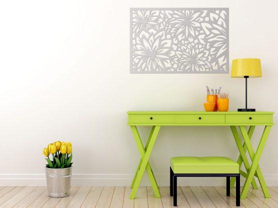 Kwiaty panel dekoracyjny 3D