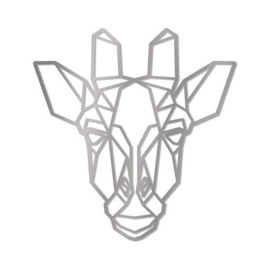 Żyrafa dekoracja geometryczna 3D